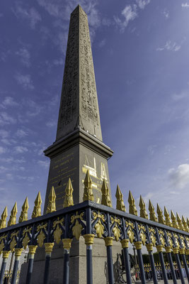Obelisk am Place de la Concorde