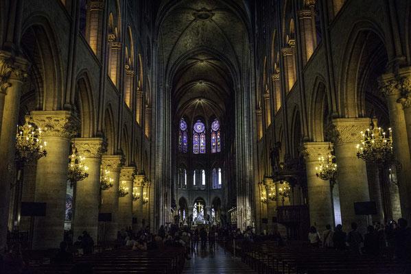 Notre Dame - Innenansicht