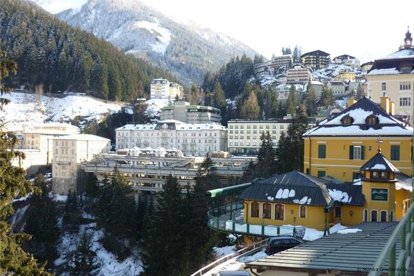 Foto Bad Gastein Zentrum Winter