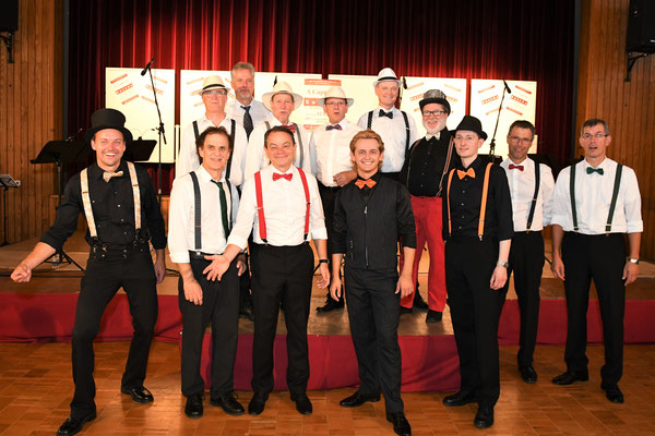 A Cappella im Barbershop Style