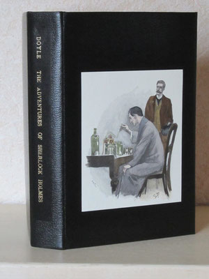 illustration aquarellée sur Doyle, The adventures of Sherlock Holmes