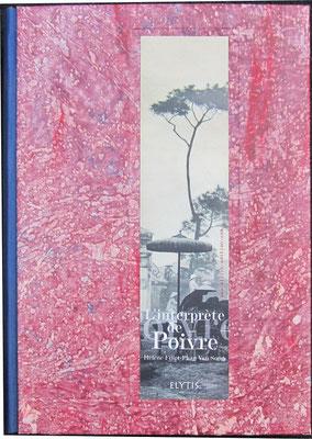 plats rapportés couverts de papier à la colle, sur H. Fillet, l'interprète de Poivre
