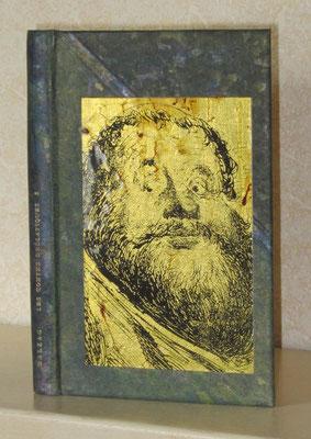 couverture de tyvek teint, sur Balzac, Contes drôlatiques