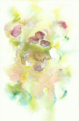 fleurs / aquarelle