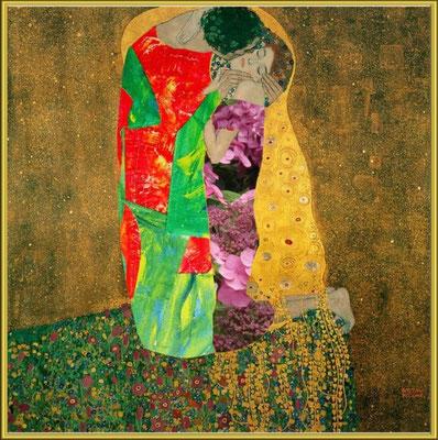 hommage à Klimt / création numérique