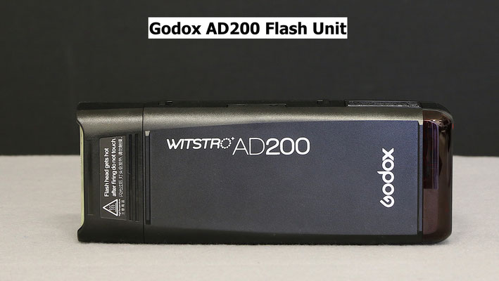 The AD200 with speedlite head