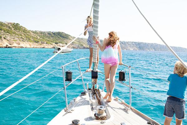 Segelyacht Familie Palma de Mallorca