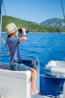 Familienurlaub mit Skipper Rhodos