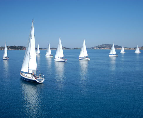 Segelgebiet Zadar Katamaran