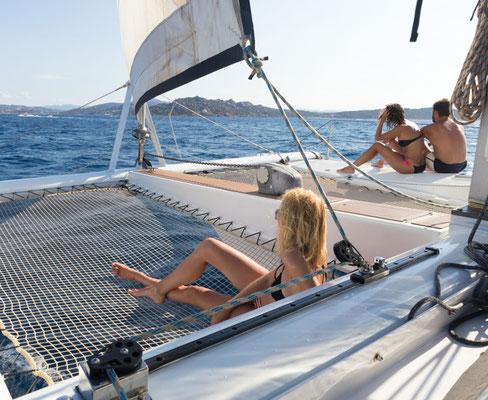 Mitsegeln Mallorca Luxus Katamaran