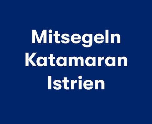 Segeln Zadar Biograd Familie Katamaran