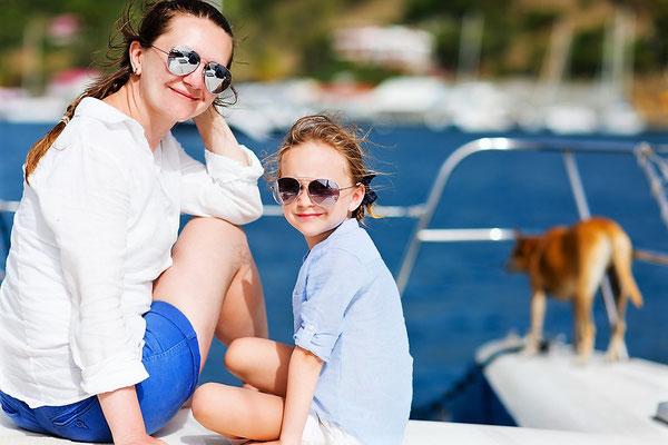 Katamarantörn für Familien & Alleinreisende mit Kinder Elba