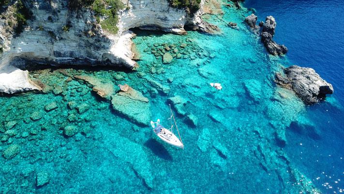 Segelyacht ab Korfu Familie