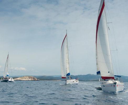 Flottillensegeln Familie Lefkas