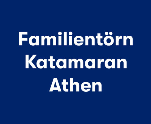 Familien-Katamaran Korfu
