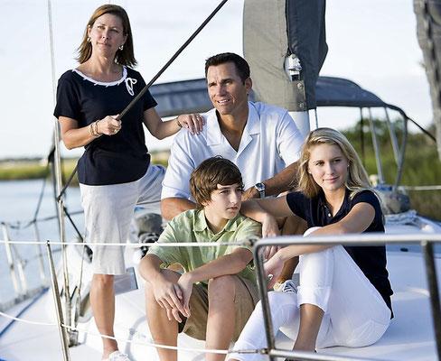 Segelyacht Split Familie