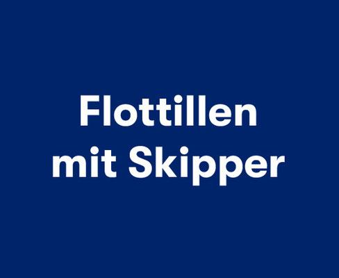 Flottillen mit Skipper Kroatien