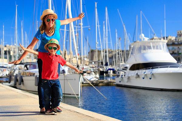 Mallorca Segelreisen Familie