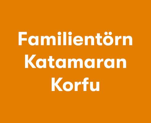 Mitsegeln Familie Katamaran Korfu