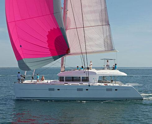 Luxus-Katamaran Familie Kroatien