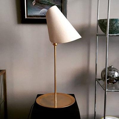 "Lampada da tavolo ""La lune sous le chapeau"" disegnata da Man Ray per Sirrah anni '70"