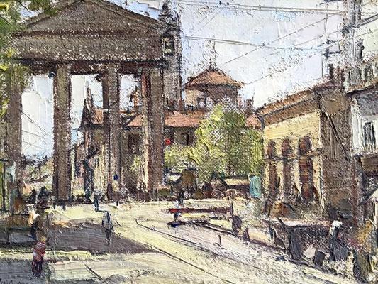 Alve Valdemi Del Mare (1885-1972) - Milano P.zza XXIV Maggio
