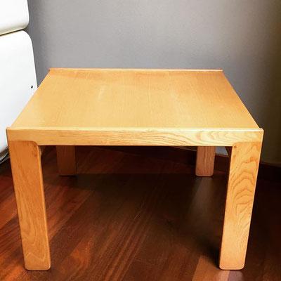 Tavolino rettangolare Afra e Tobia Scarpa per Cassina anni '70 - Misura: 50x60