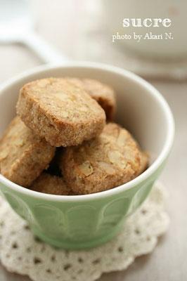 コーヒーとくるみのクッキー