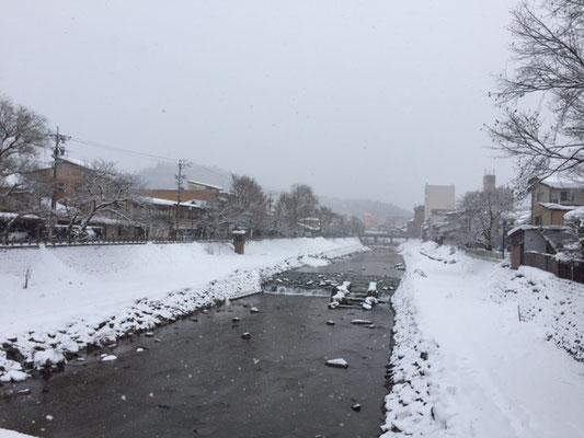 弥生橋からの眺め
