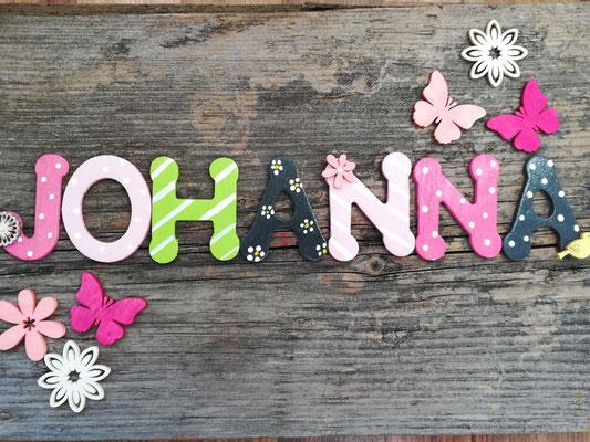 Holzbuchstaben Kinderzimmer - Vogelhaus zur Hochzeit -von ...