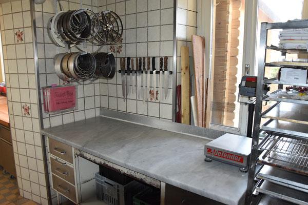 hier wird produziert - Bäckerei mit Tradition