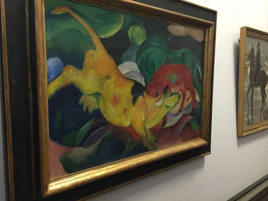 Die gelbe Kuh von Franz Marc