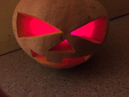 Halloween Ein Kunstprojekt Der Klassen Flex A Und 4a Grundschule