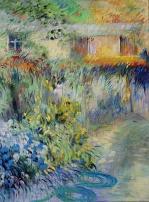 Fontainebleau Automne                 Huile sur toile   60 x 80
