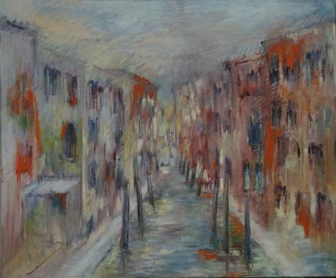 Rio à Venise                                Huile sur toile 15F