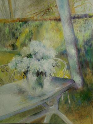 Le bouquet de Bernadette   Huile sur toile                   60F