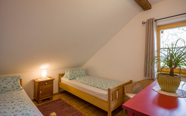 Zweibettzimmer Ferienwohnung Kohl