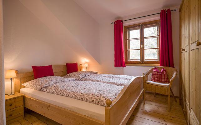 Schlafzimmer Ferienwohnung Kohl