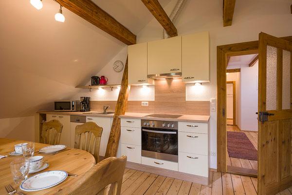 Küche Ferienwohnung Kohl