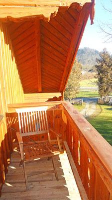 Balkon Ferienwohnung Kohl
