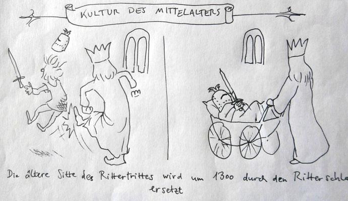 Missverständnisse der Geschichte: der Ritterschlaf