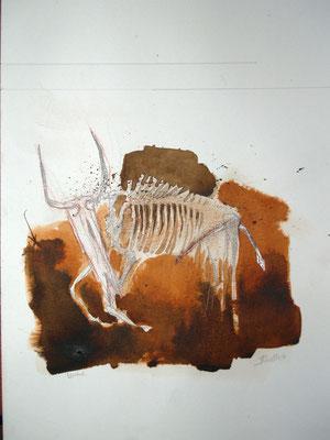 urrind (tusche, sepia, grafit, bleistift) 2020 (verkauft)