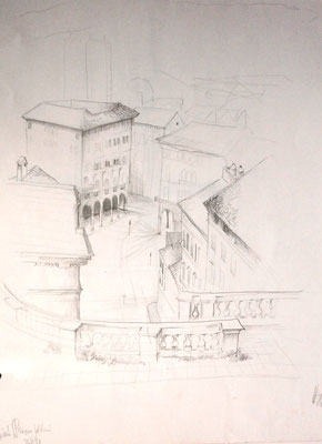 Triest, Piazza Goldoni