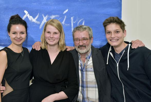 Tamara Stolz, Theresa Rudloff und Johannes Senfter, i musicisti