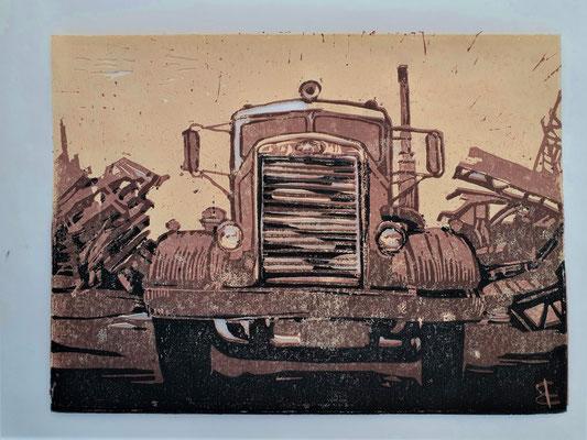 scrap yard Needlenose (Farblinoldruck 7/10) 20x15
