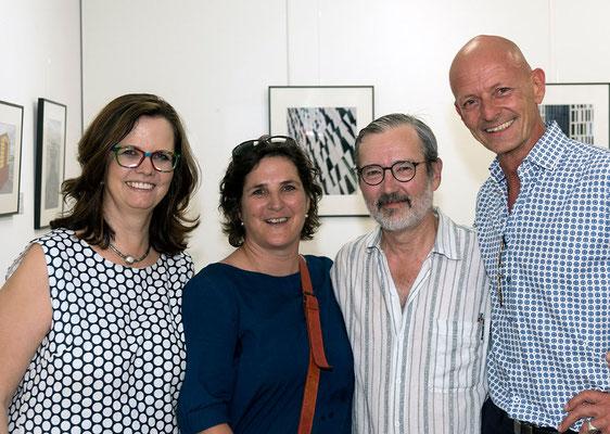 Regina Rüscher, Nikola Wallner, Benno Meliss, Kurt Arbeiter