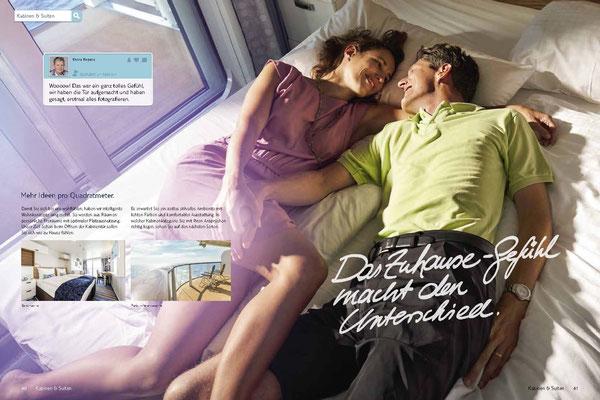 TUI Cruises Katalog Innenseite