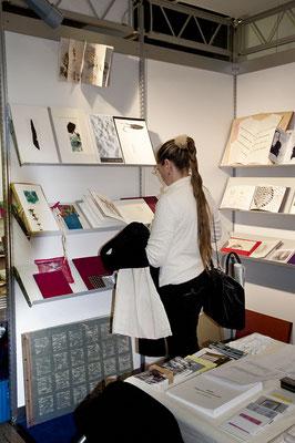 Eliana Bürgin | Ausstellungsansicht, BuchBasel: Buch- und Literaturfestival und Buchmesse, Basel, Schweiz | Foto: Lucas Kunz | 2011
