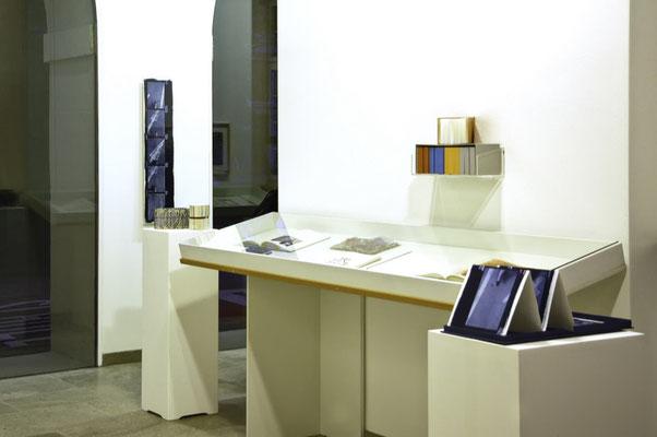 Ausstellungsansicht Kunsthaus Zofingen, Kunstwort und Bildtext, Zofingen, Schweiz | 2018