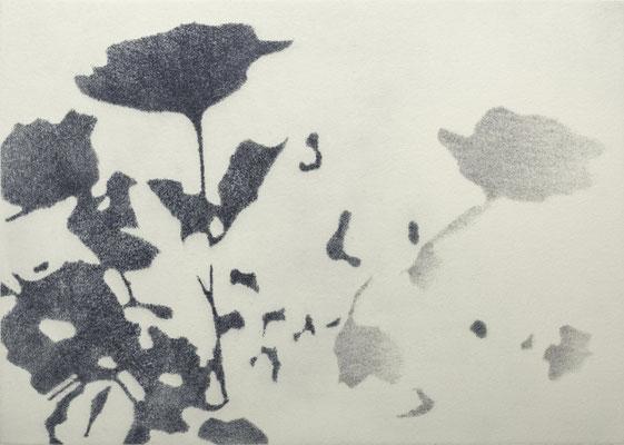 Eliana Bürgin-Lavagetti | Roulette.  Druck von zwei Kupferplatten. Kupferplattenformat 30 x 40 cm. Blattgrösse 46 x 37 cm. Je drei Exemplare.
